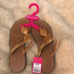 Lilly Pulitzer for Target 🎯 Pineapple 🍍 Sandals